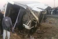 تلفات تصادف راهیان نور | ۸ کشته، ۴۲ زخمی در حادثه تصادف اتوبوس دانش آموزان دختر