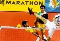 مسابقات جهانی سپک تاکرا/ بانکوک؛  تیم ملی دبل مردان فینالیست شد