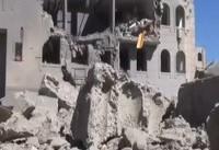 حمله جنگنده های متجاوز سعودی به بخش های مختلف یمن