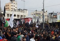 راهپیمایی میلیونی قدس در غزه در اعتراض به تصمیم ترامپ برای قدس