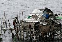 توفان در فیلیپین زندگی ۱۵۰ هزار نفر را مختل کرد/سه نفر کشته و ۶ نفر ناپدید شدند+تصاویر
