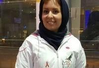دختر مبتلا به اماس مشعلدار تیم ایران در المپیک