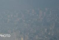 آلودگی هوای تبریز (عکس)
