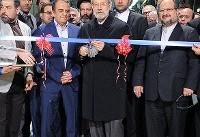 (تصاویر) افتتاح خط تولید دو محصول ایران خودرو با حضور لاریجانی