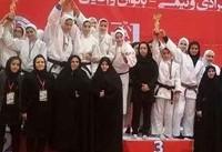 پایان رقابتهای تیمی جودوی بانوان کشور با قهرمانی لرستان