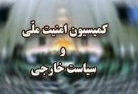 کمیسیون امنیت ملی سانحه سقوط هواپیمای تهران-یاسوج را تسلیت گفت