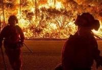 تخلیه هزاران خانواده در پی آتشسوزی در جنوب کالیفرنیا
