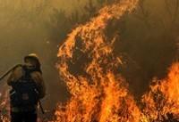 یک کشته به دنبال آتش سوزی در کالیفرنیا