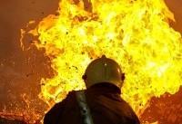 مصدومیت ۲ نفر در حادثه آتش سوزی منزل مسکونی