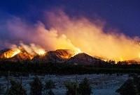 آتش سوزی مهیب در جنوب کالیفرنیا