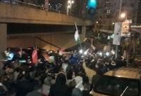 تظاهرات فلسطینیان ساکن اردوگاه برج البراجنه بیروت در اعتراض به تصمیم ترامپ
