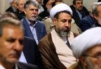عکس/ حضور محمود احمدینژاد در دیدار مسئولان نظام با رهبر انقلاب