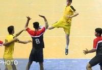 تقابل گچساران و بافق در هفته نهم لیگ برتر هندبال