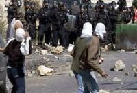 زخمی شدن ۹ فلسطینی در درگیری با نظامیان صهیونیست