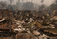 California wildfires: winds pose 'extreme danger' for Los Angeles