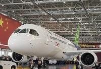 چین نخستین هواپیمای مسافربری خود را آزمایش میکند