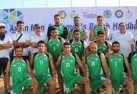 تیم ملی هندبال ساحلی ایران از صعود به فینال آسیا بازماند