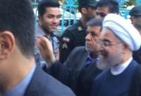 روحانی رأی خود را به صندوق انداخت +فیلم