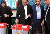 حضور شخصیت های کشور در پای صندوق های رای   تصاویر