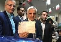 هاشمی طبا: از همه هوادارانم میخواهم به روحانی رأی بدهند