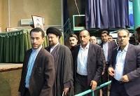 (تصاویر) سیدحسن خمینی پای صندوق رای