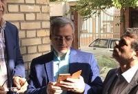 هاشمیطباء رای خود را به صندوق انداخت