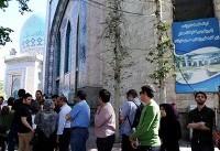 (تصاویر) حضور بی سابقه مردم در صف رایگیری