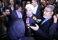 حاشیههای دیدار روحانی از ستاد انتخابات کشور   نماینده رئیسی اعتراض کرد