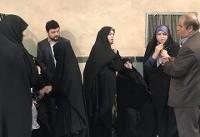حضور بیت امام خمینی(ره) در شعبه اخذ رای جماران+تصویر