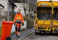 کامیون خودران جمعآوری زباله (+عکس)