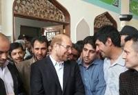 قالیباف در اردبیل رای خود را به صندوق انداخت+ عکس