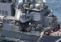 Bodies of US sailors found in flooded destroyer after Japan crash