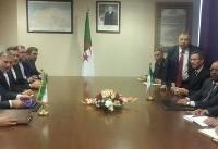 حضور ظریف در ضیافت افطار وزیر خارجه الجزایر
