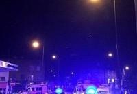 حمله یک خودرو به عابران پیاده در لندن