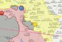 ویدئو / شلیک موشک های سپاه به مقر تروریستها در سوریه