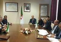 دور اول گفتگوهای ظریف با وزیر خارجۀ الجزایر برگزار شد