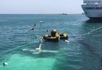 جزئیاتی از سانحه آبگرفتگی شناور مسافری بدون مسافر در بندرگاه کیش