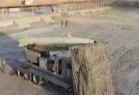 ویدیو؛ حمل و آمادهسازی موشکها برای شلیک به داعش