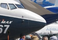 The Latest: Boeing, Airbus compete for orders at air show