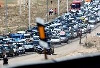 ترافیک نیمه سنگین در محور کرج-چالوس
