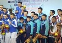 آقایی کاراته ایران در قاره کهن/ سکوی قهرمانی زیر پای ایرانیها