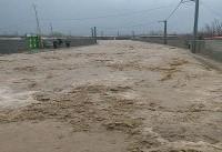 بارندگی شدید در شرق گلستان حادثه آفرید