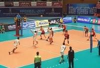 شروع مقتدرانه والیبالیستهای ایران با شکست کرهجنوبی