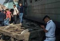 تصادف پرتلفات دو قطار در مصر