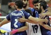 تیم والیبال ایران برابر کره جنوبی به پیروزی رسید