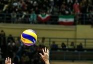 دیدار تیمهای ملی والیبال ایران و کره جنوبی