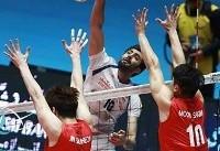 والیبال انتخابی قهرمانی جهان؛ ایران در اولین گام کره جنوبی را شکست داد