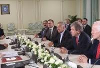 سناتورهای ارشد آمریکا با سرکرده گروهک تروریستی منافقین دیدار کردند+تصویر