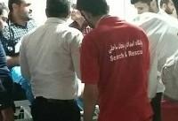 مسموم شدن حدود ۲۰۰ نفر بر اثر نشت گاز کلر +عکس