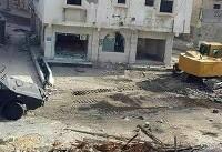 محاصره کامل شهرک عوامیه و تخریب زیرساختهای آن از سوی نیروهای سعودی